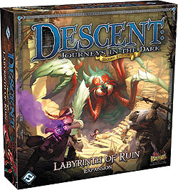 GTM #158 - Descent: Journeys In The Dark 2nd Edition — Labyrinth Of Ruin