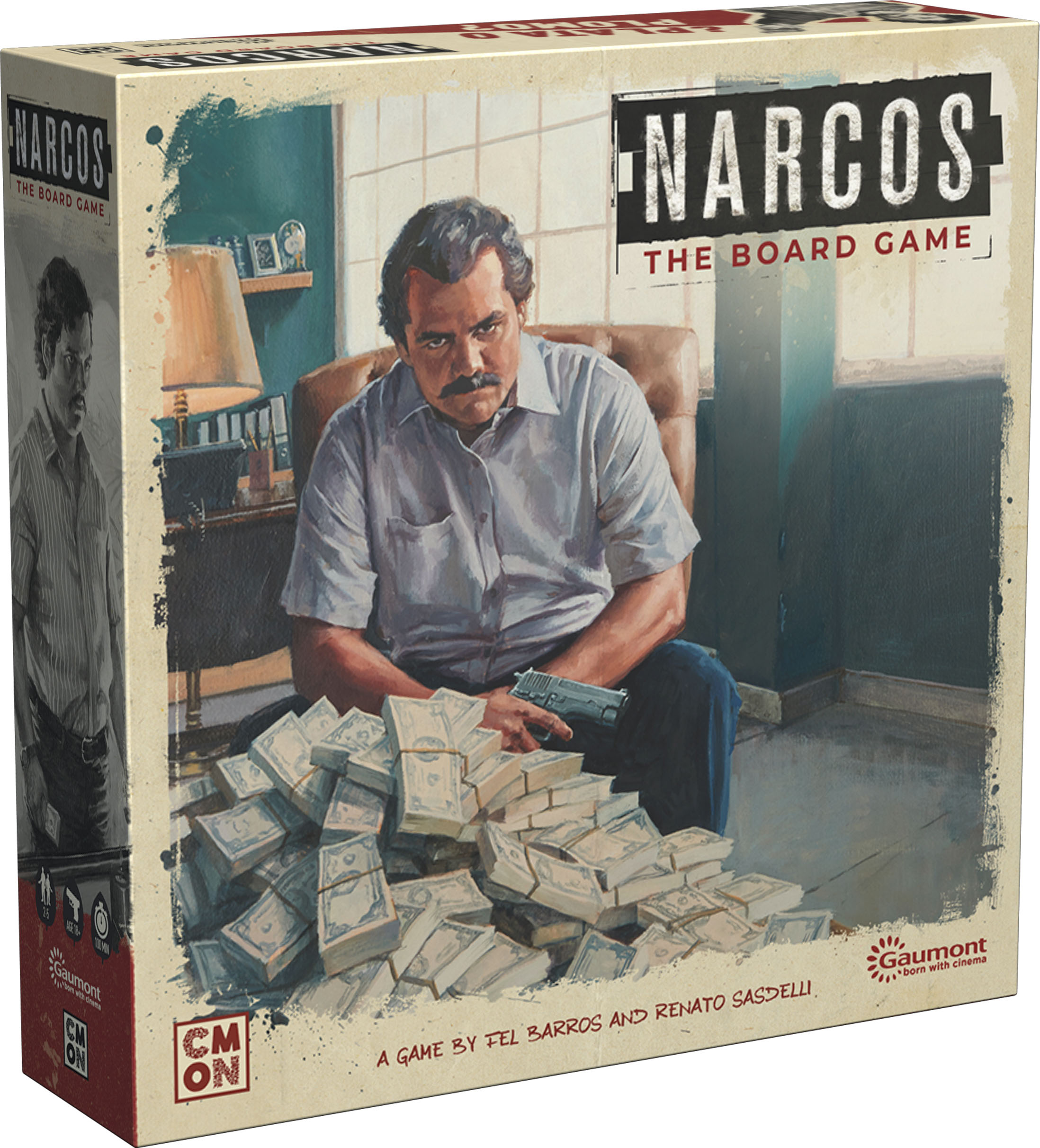 GTM #224 - Narcos: The Board Game - The Hunt for El Patrón